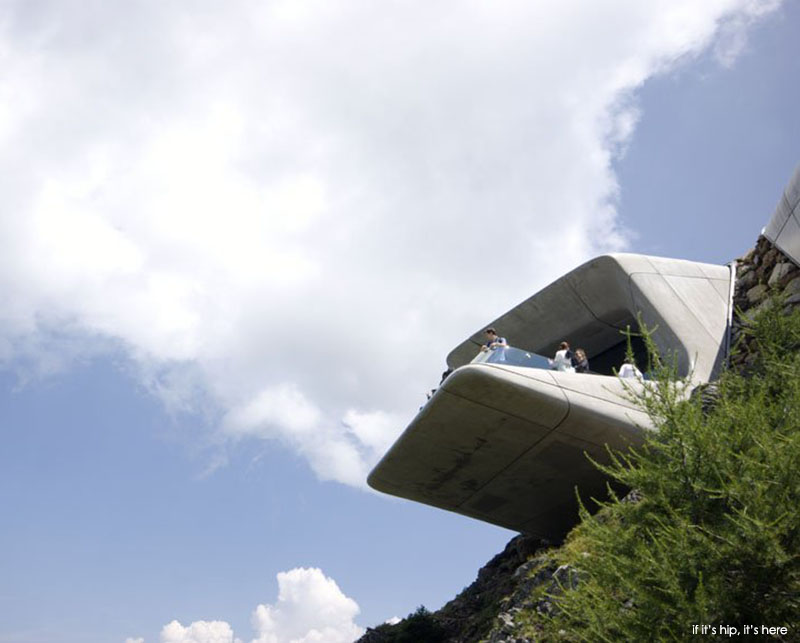 Messner Mountain Museum by Zaha Hadid Architects - if it's hip, it's here