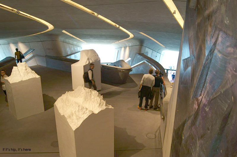 Inside the Messner Mountain Museum by Zaha Hadid Architects - if it's hip, it's here