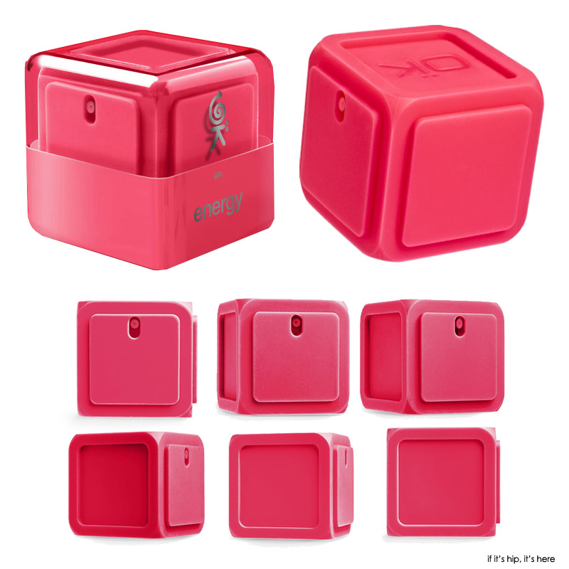 red silicon cube from every angle IIHIH