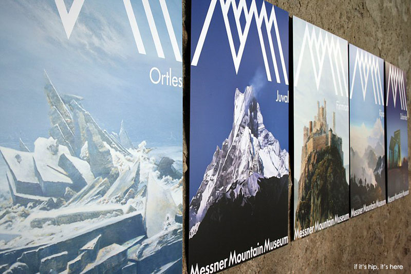 posters for the five other Messner Museums