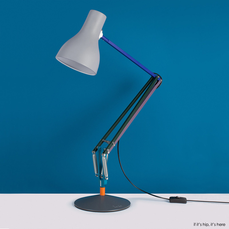 anglepoise paul smith launch type 75 edition two desk lamp if it 39 s hip it 39 s here. Black Bedroom Furniture Sets. Home Design Ideas