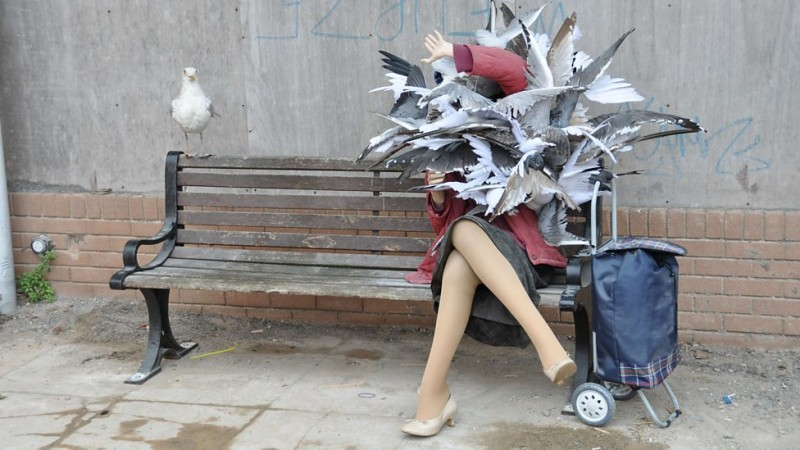 art from dismaland 2