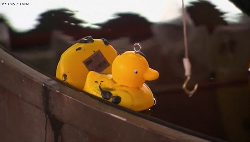 dismaland hook a duck game