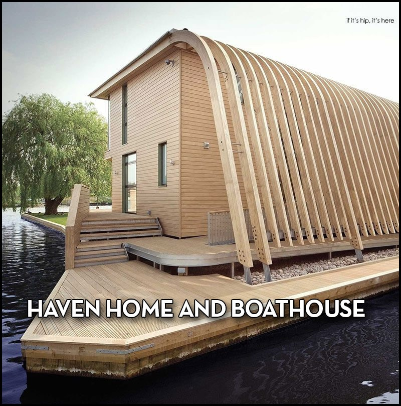 Haven home and boathouse