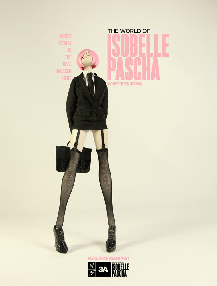 New Hip Cosplay Dolls From The World Of Isobelle Pascha