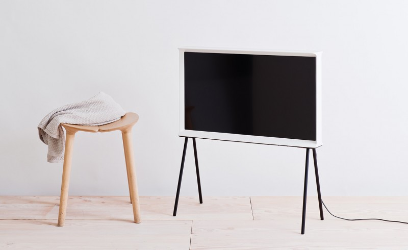 samsung tv on stand. a new samsung tv for design lovers: the serif by bouroullec bros - if it\u0027s hip, here tv on stand q