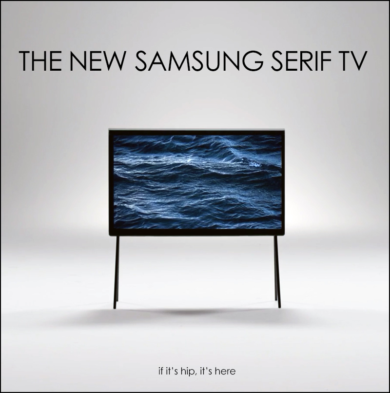 the serif tv by the bouroullec bros