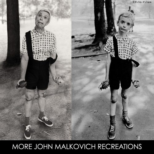 Malkovich Photo Recreations by Sandro Miller