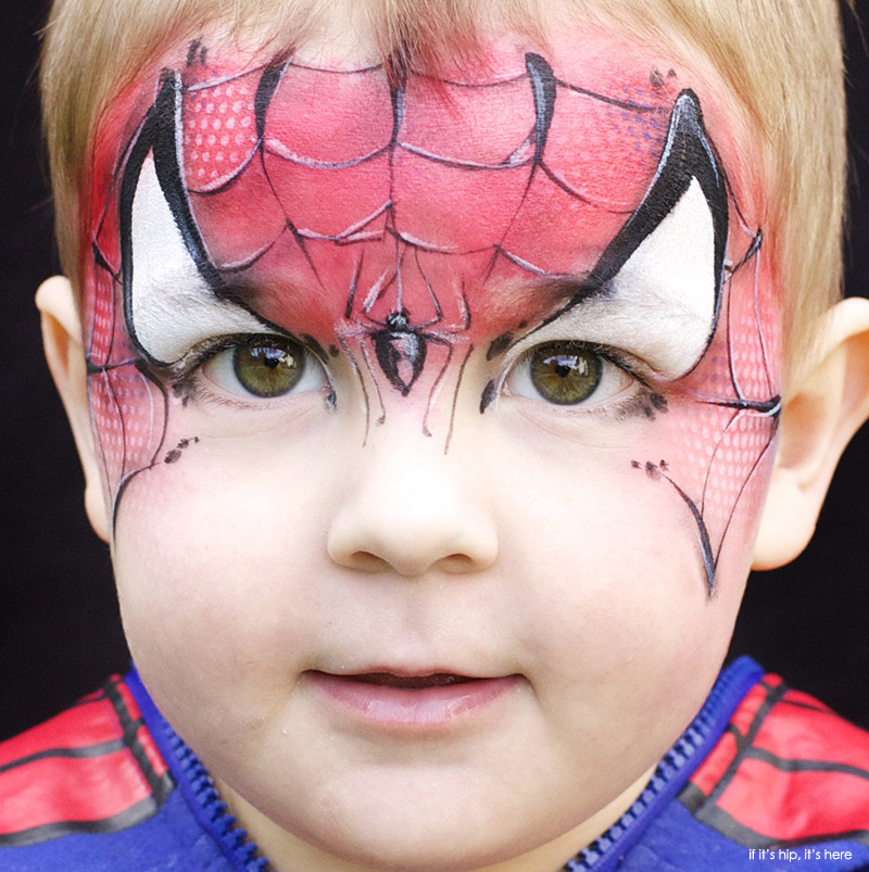 Inspiring Children\'s Makeup For Halloween by Christy Lewis