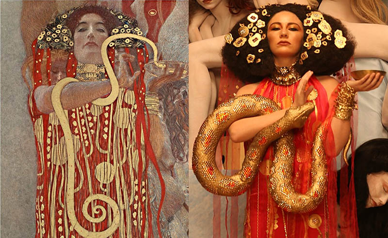 Life Ball 2015 Brought Gustave Klimt Art To Life
