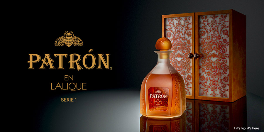 patr243n and lalique take tequila to new heights of luxury