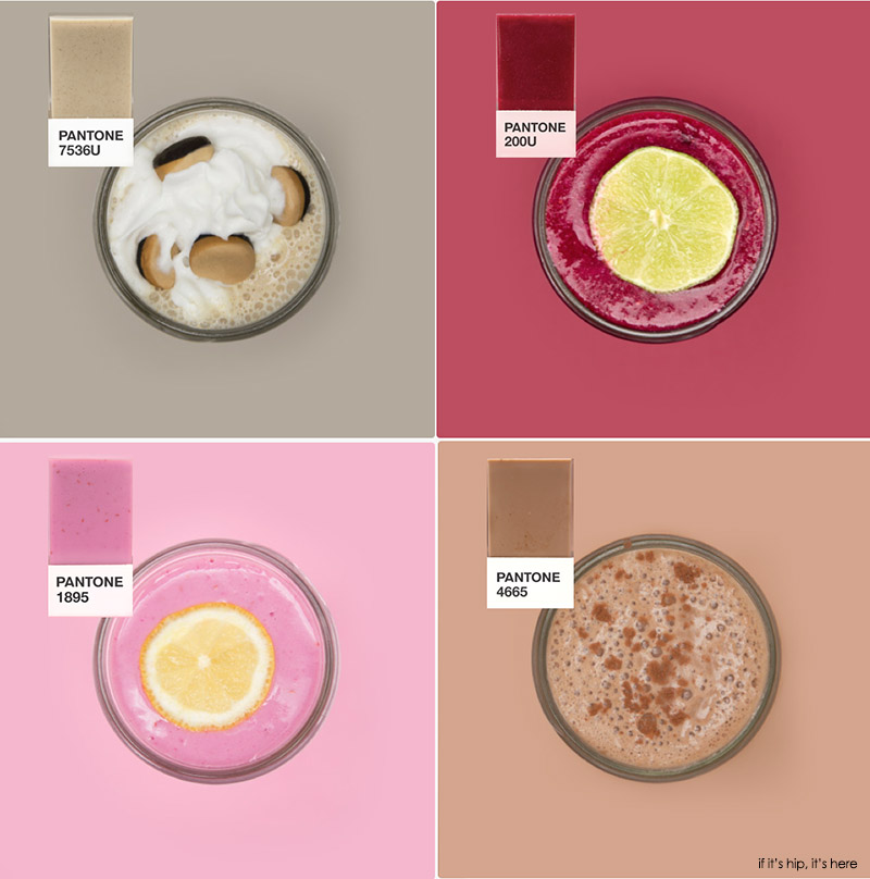 Pantone inspired Smoothies