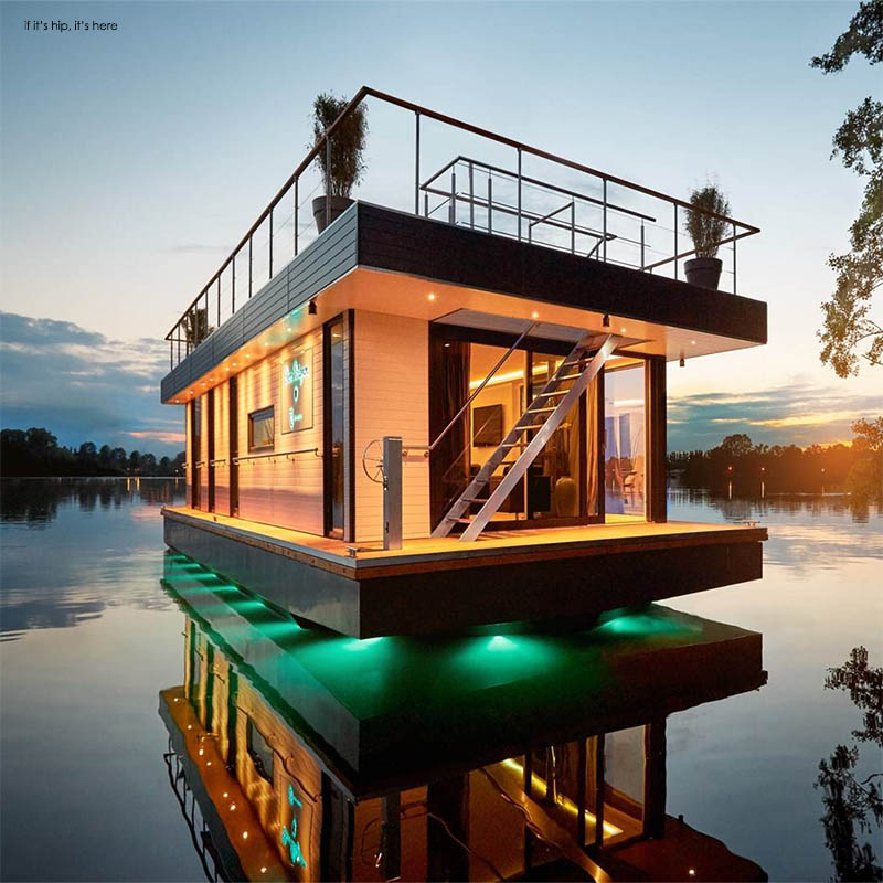 Eco Friendly Rev House Houseboats Are Floating Luxury