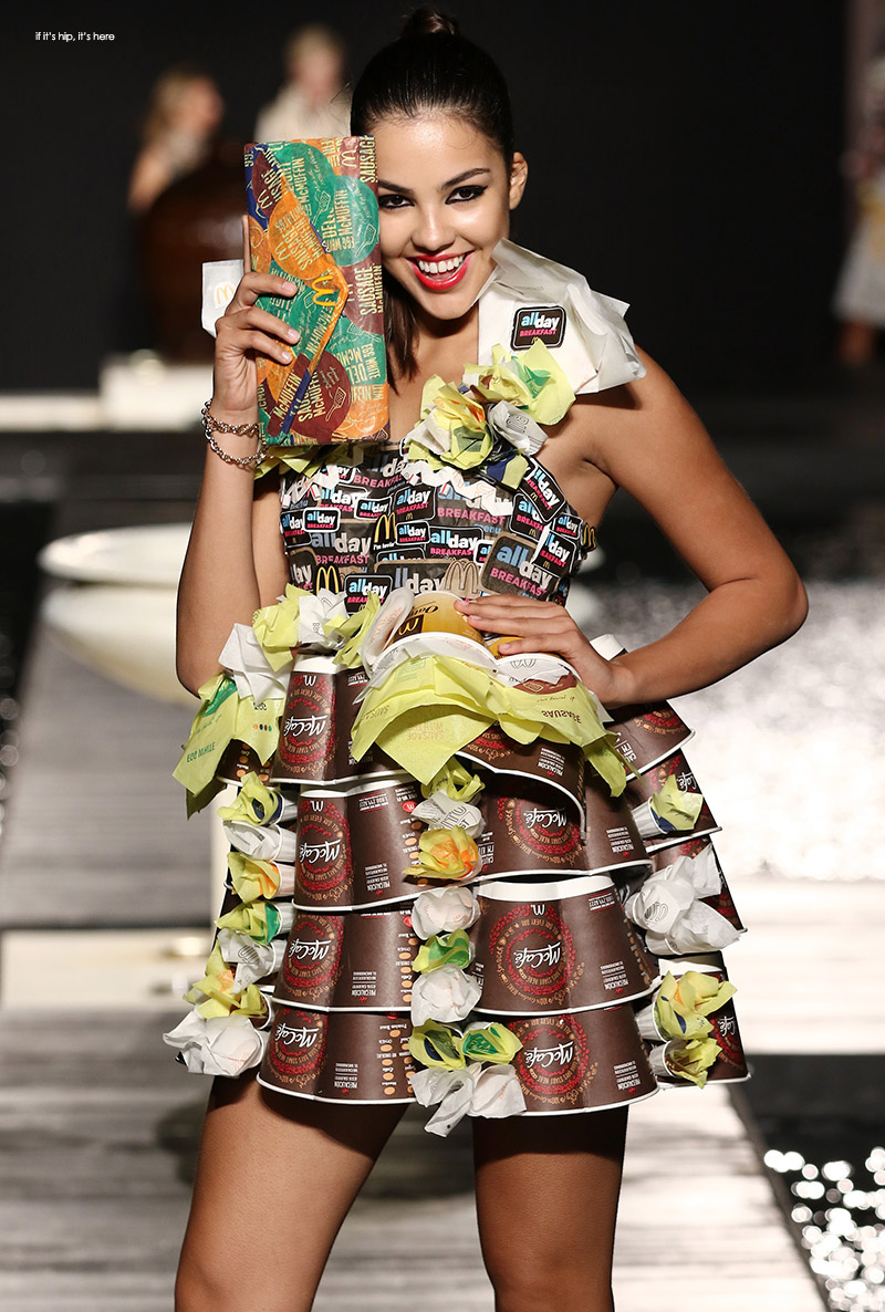 From Waste To Wow Mcdcouture Collection Created From