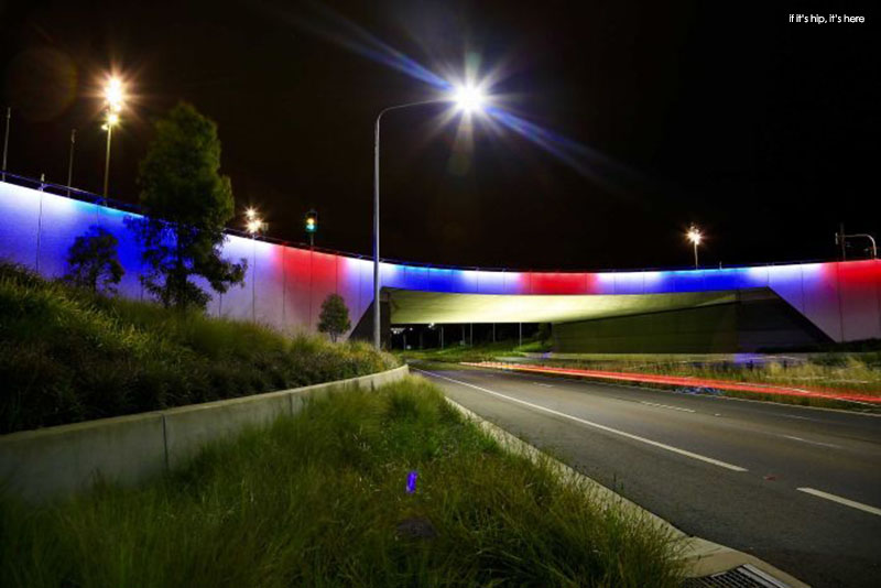 The Kings Avenue overpass, Canberra, Australia