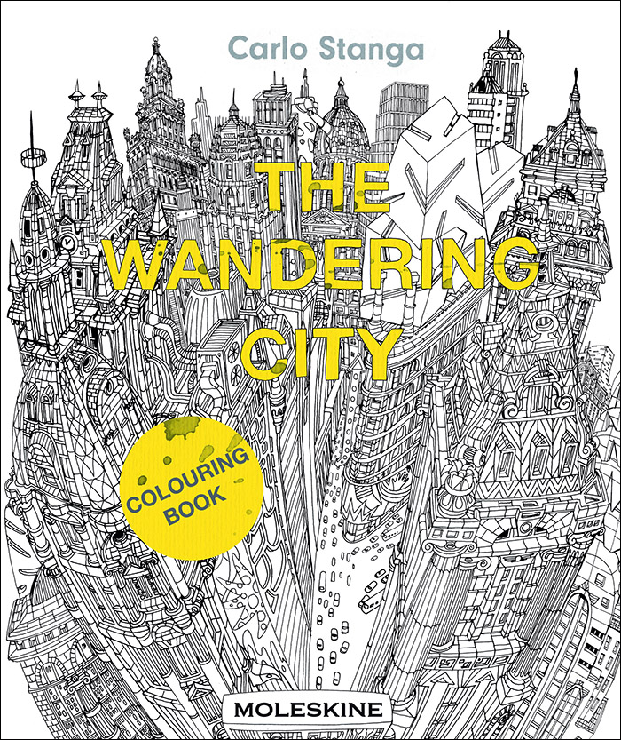 The Wandering City coloring book