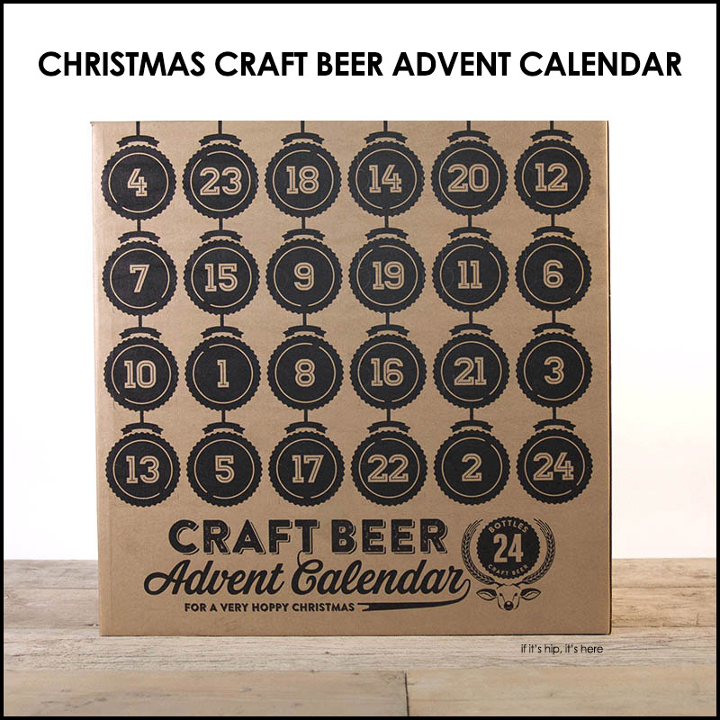 the craft beer advent calendar is the ultimate christmas
