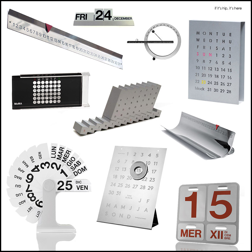 16 Designer Perpetual Calendars That Are Timeless. - if it's hip ...