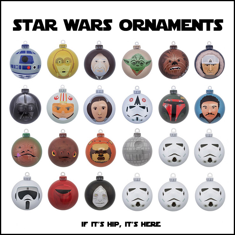star wars ornaments with design appeal
