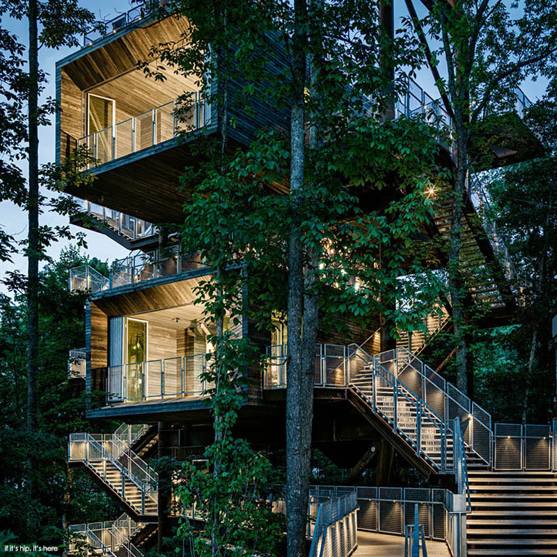 sustanability treehouse by mithun