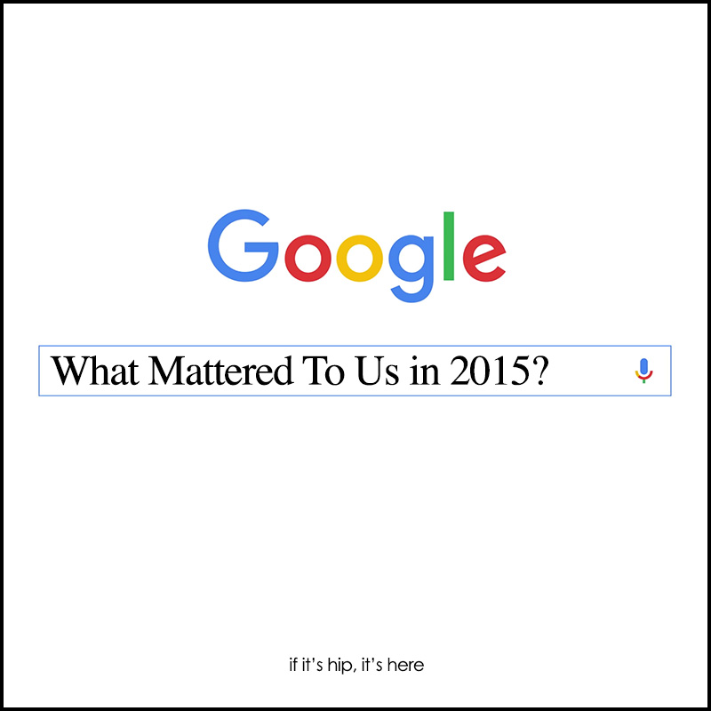 Most Popular Google Searches of 2015