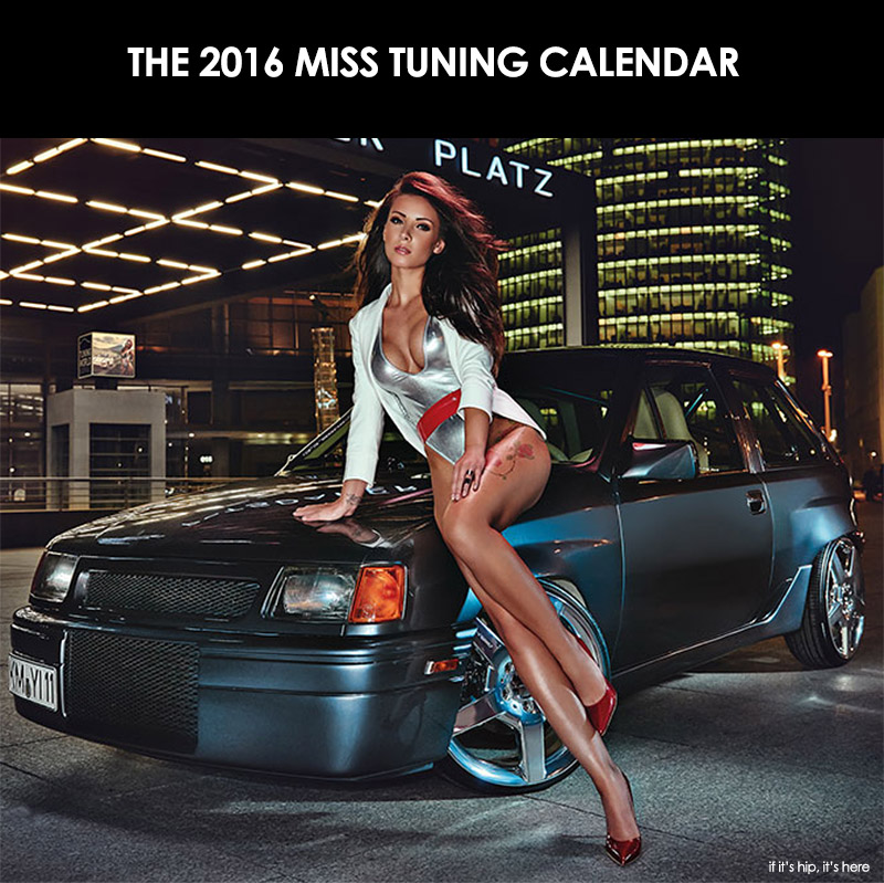 Tuning World Bodensees 2016 Miss Tuning Calendar | If It