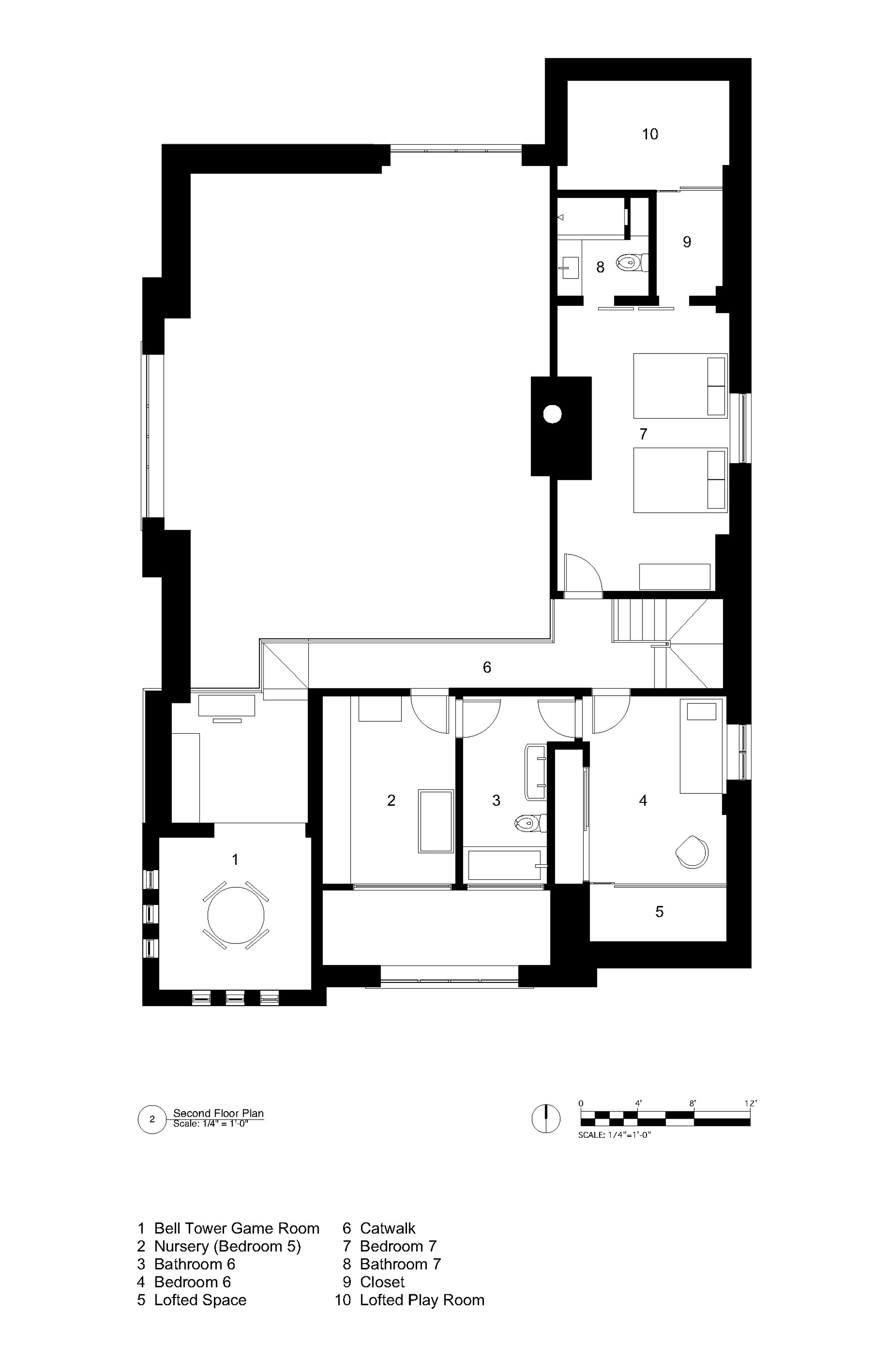 An old church converted to a modern family home if it 39 s for Church floor plans