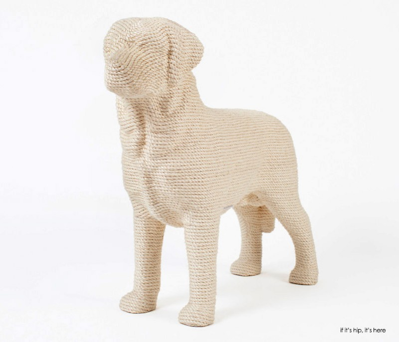 DOG in ivory 1