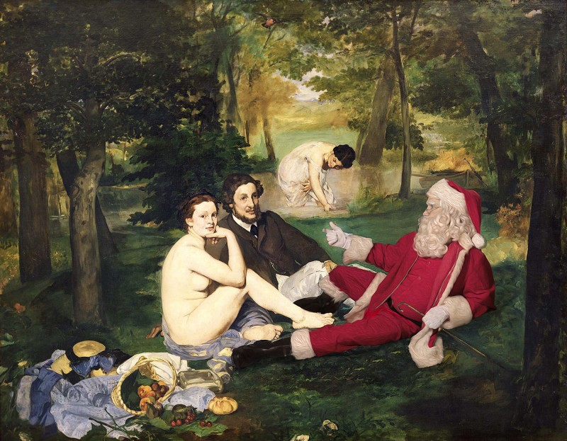 Santa Classics, Manet's Luncheon On The Grass
