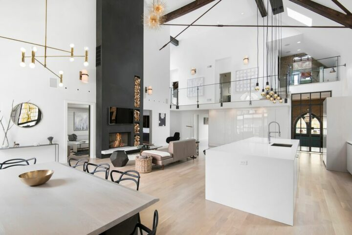 An Old Church Converted To A Modern Family Home
