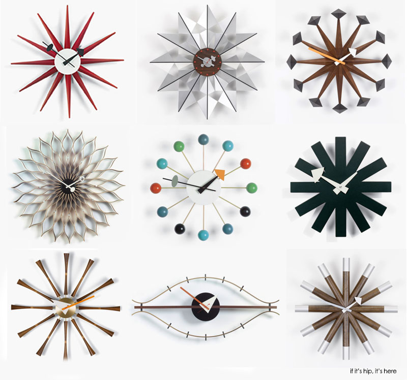The best gift guide for mid century modern design lovers for Nelson wall clock