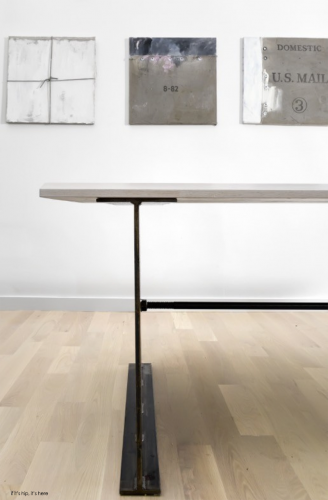 linc thelen dining table detail
