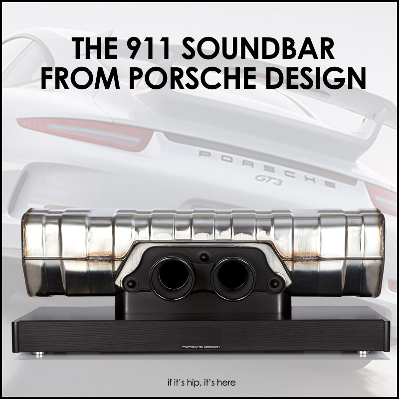 911 soundbar by porsche design. Black Bedroom Furniture Sets. Home Design Ideas