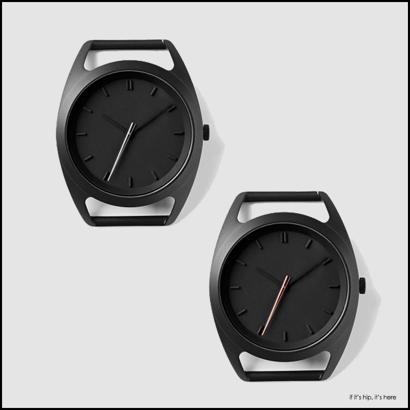 Nocs Atelier Seconds Watch Silver and Rose Gold