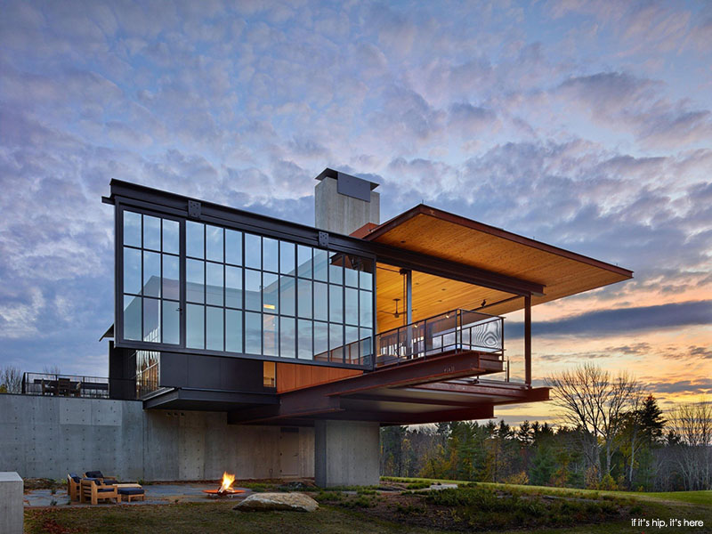 Olson Kundig Berkshire Residence Is Gorgeous Inside And