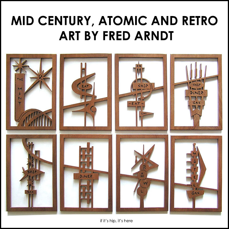 Atomic, Googie And Mid Century Modern Inspired Art By Fred Arndt.   If Itu0027s  Hip, Itu0027s Here