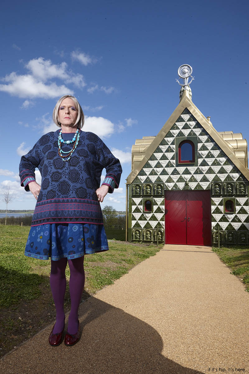 Staying at grayson perry 39 s house for essex for Grayson home