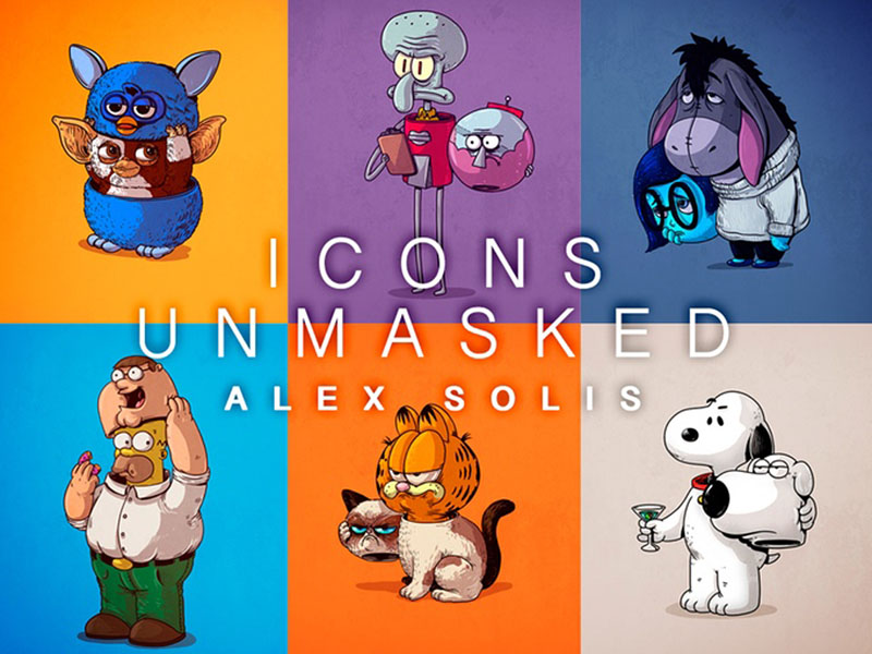 icons unmasked by alex solis