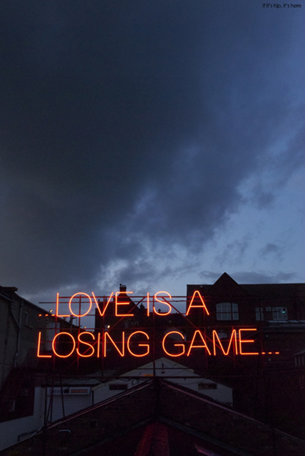 Amy winehouse quote neon love