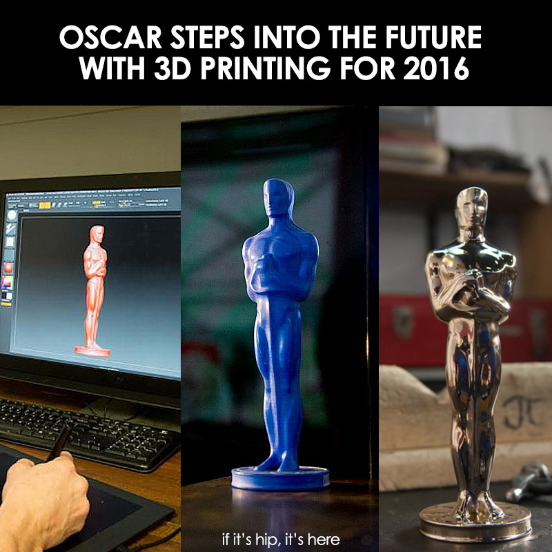 2016 Oscar Statuettes Made With 3D Printing