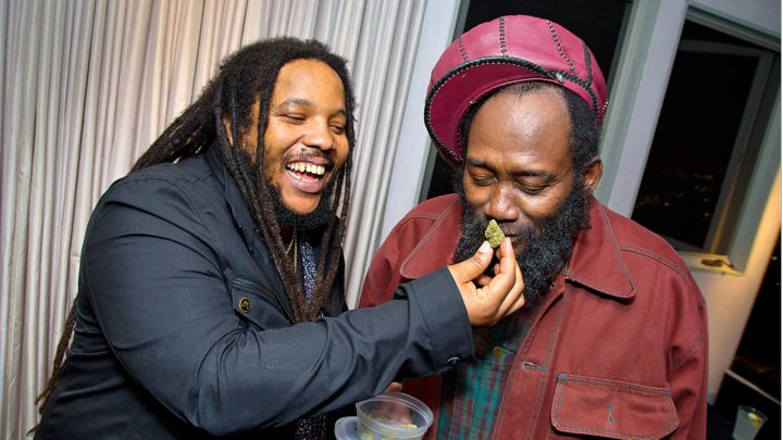 stephen marley and friend