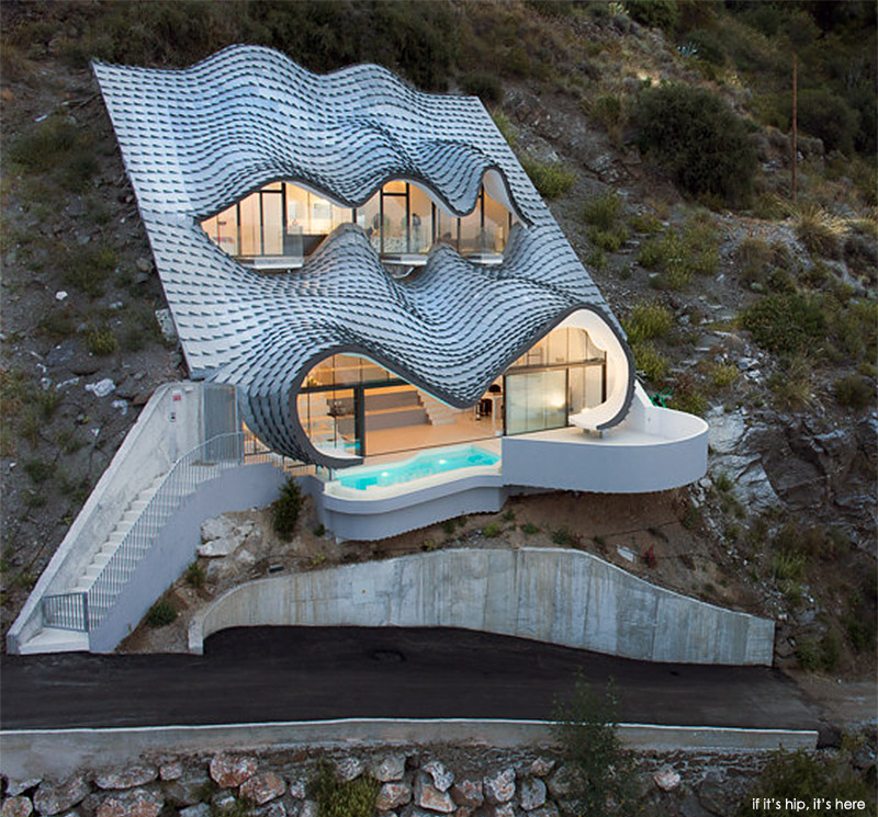 Cliff House with Zinc Roof