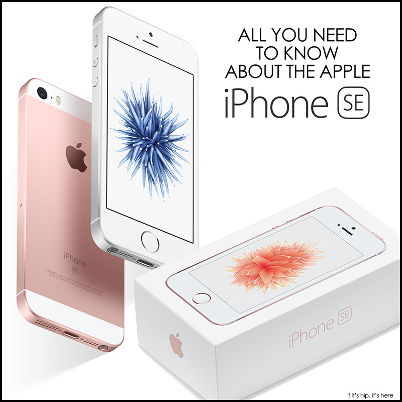 all about the apple iphone se