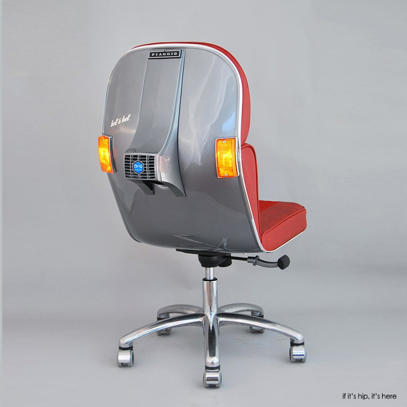 task Chairs made from Vespa Scooters