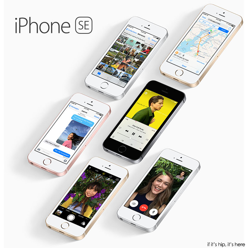 iphone se all colors face up