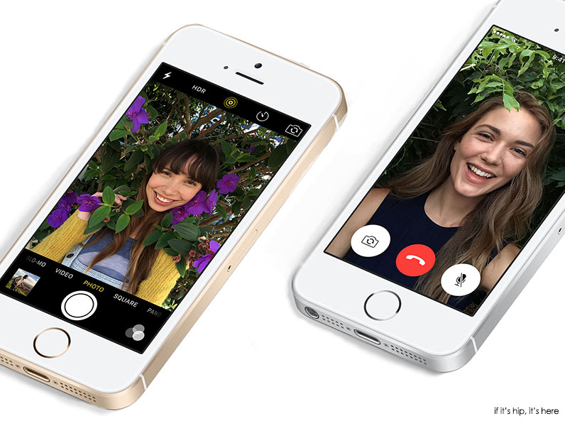 iphone se camera and facetime