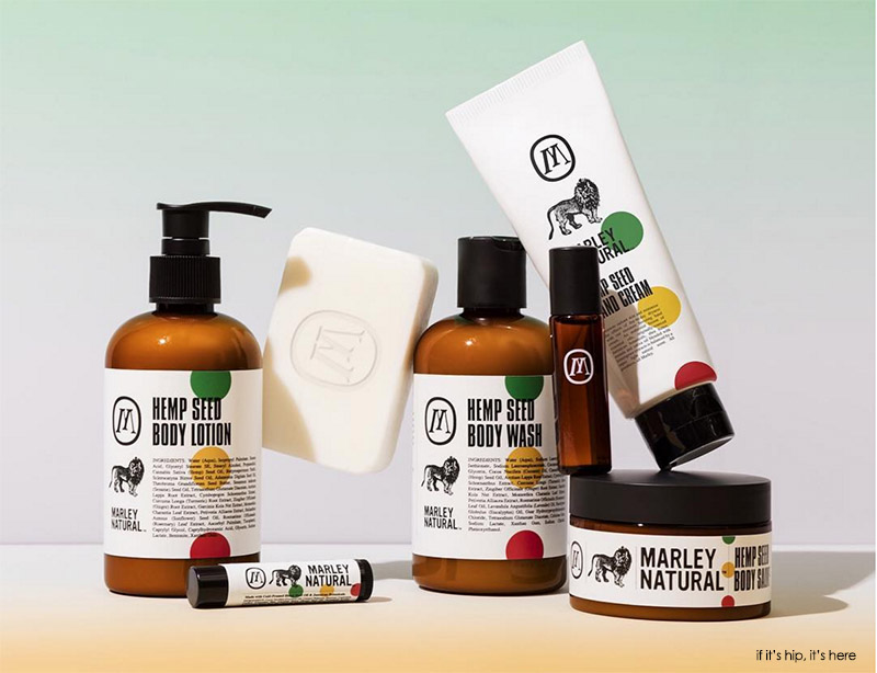 marley natural body care products