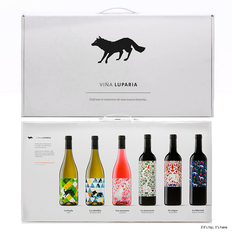 vina luperia pack front and back