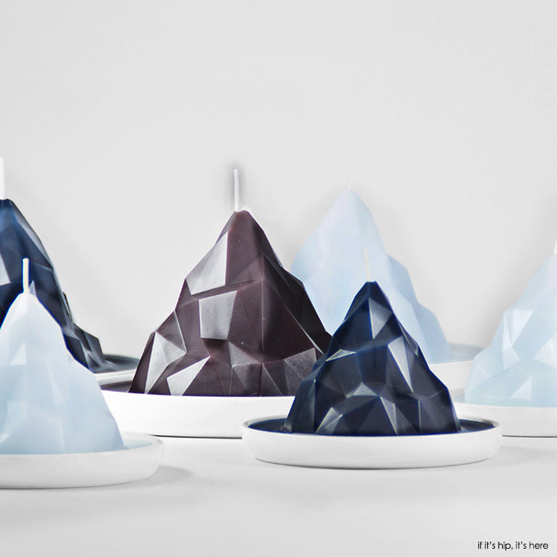 Bergy Bit Iceberg candles