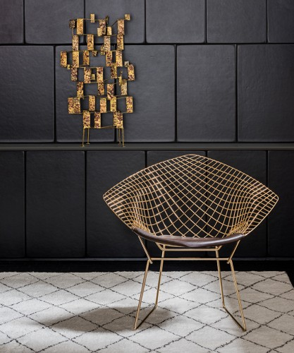 Read more about the article Knoll Releases 18k Gold-Plated Versions of Bertoia and Platner Vintage Classics